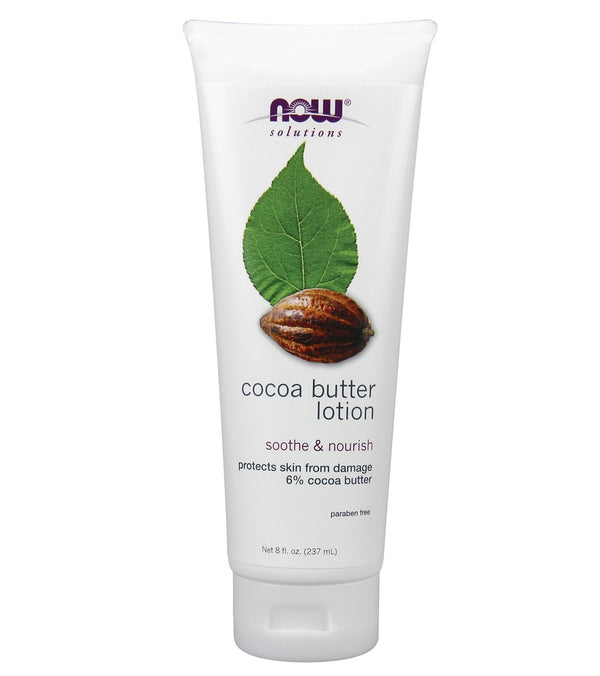 NOW Cocoa Butter Lotion 8 oz