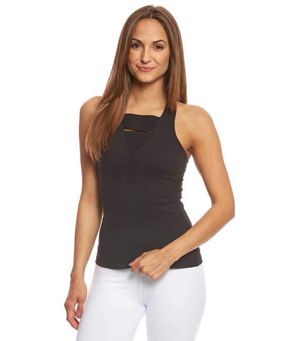 Beyond Yoga Wide Band Stacked Yoga Tank Top