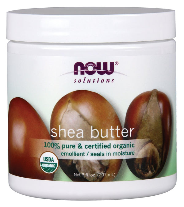 NOW 100% Pure Organic Shea Butter 7 oz