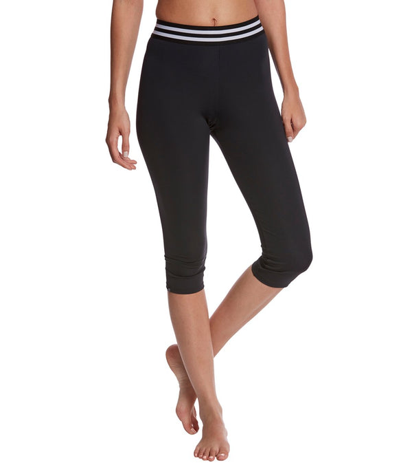 Onzie Elastic Yoga Capri Leggings