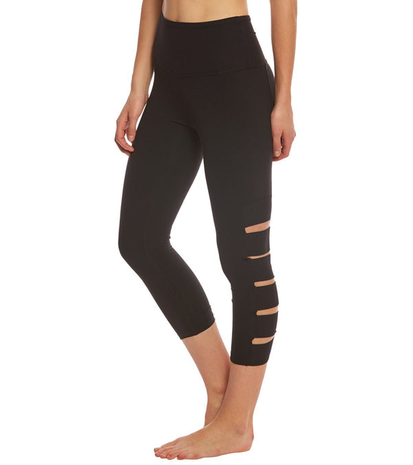 Beyond Yoga Wide Band Stacked Yoga Capris