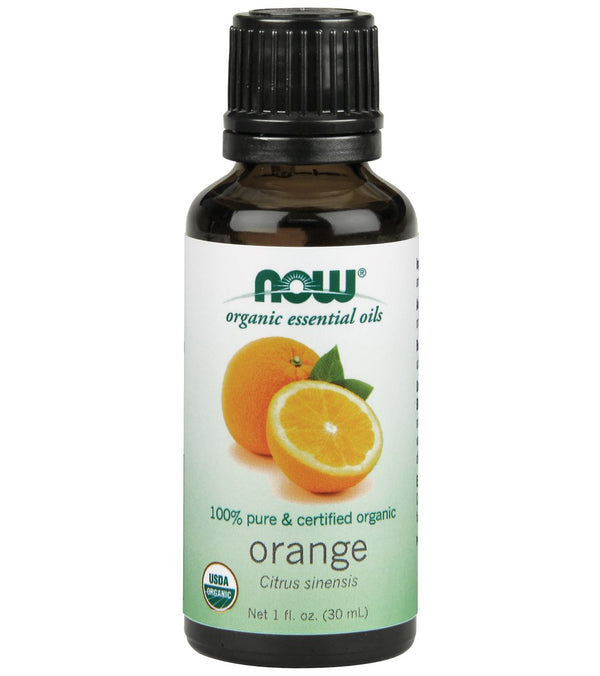 NOW Organic Orange Oil Organic 1 oz