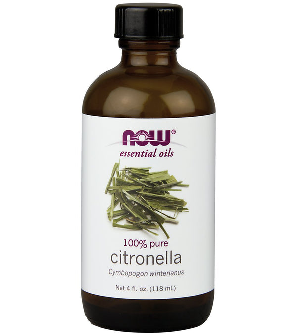 NOW 100% Pure Citronella Oil 4 oz