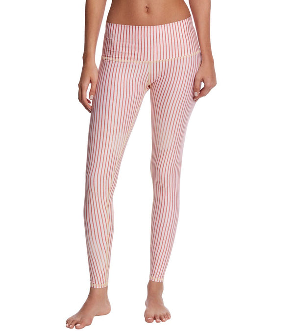 Teeki Candy Cane Hot Yoga Pants - XS