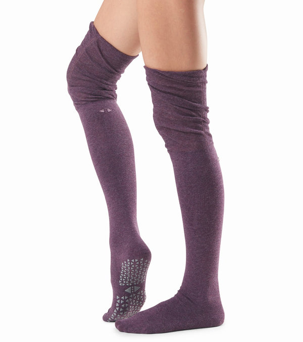 Tavi Noir Charlie Thigh High Barre Grip Socks