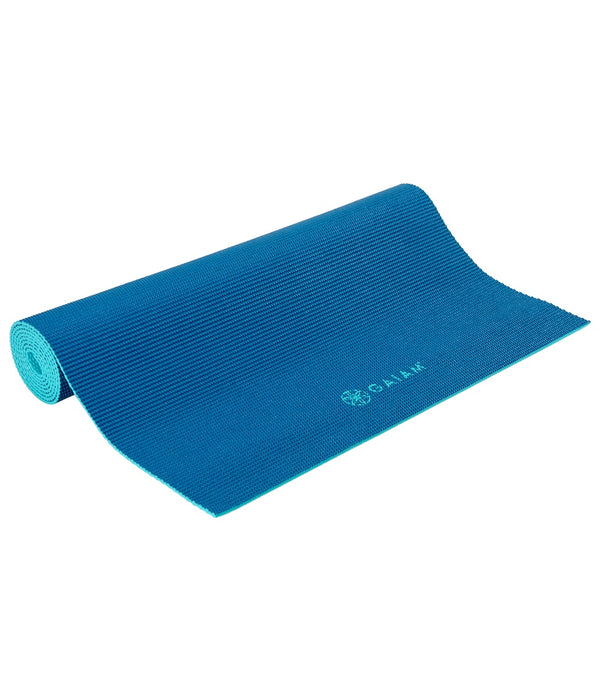 "Gaiam Classic Dual Color Yoga Mat 68"" 4mm"