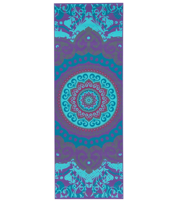"Gaiam Moroccan Garden Printed Yoga Mat 68"" 4mm"