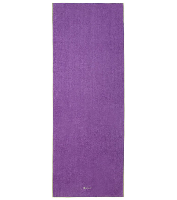 Gaiam Stay Put Yoga Mat Towel