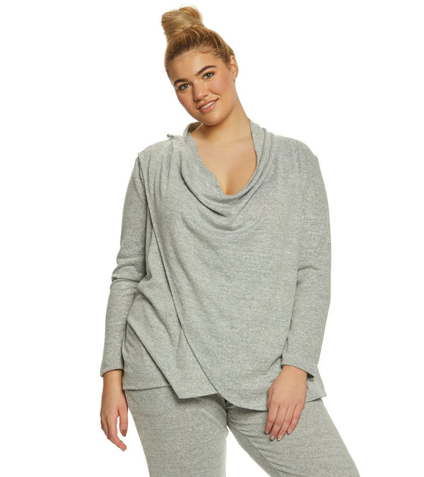 Balance Collection Plus Celeste Wrap Cardigan