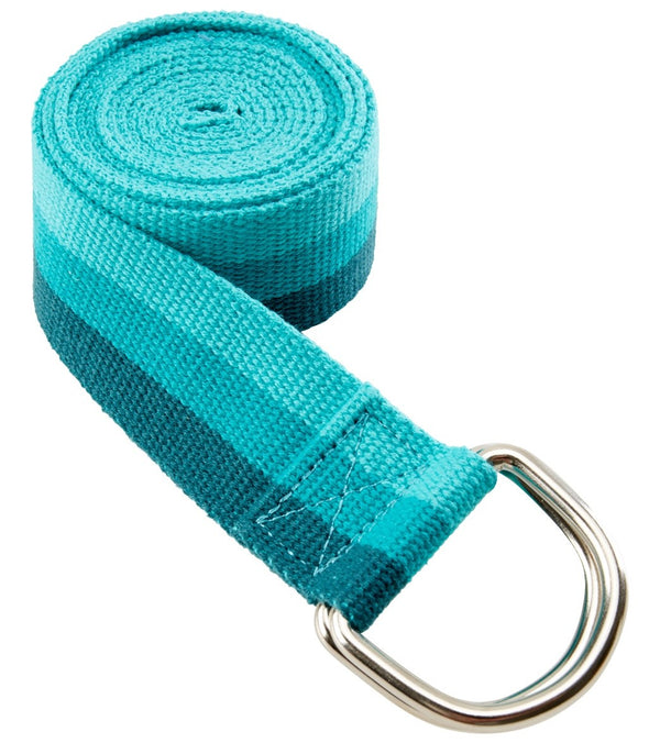 Gaiam Tri color Yoga Strap 6'