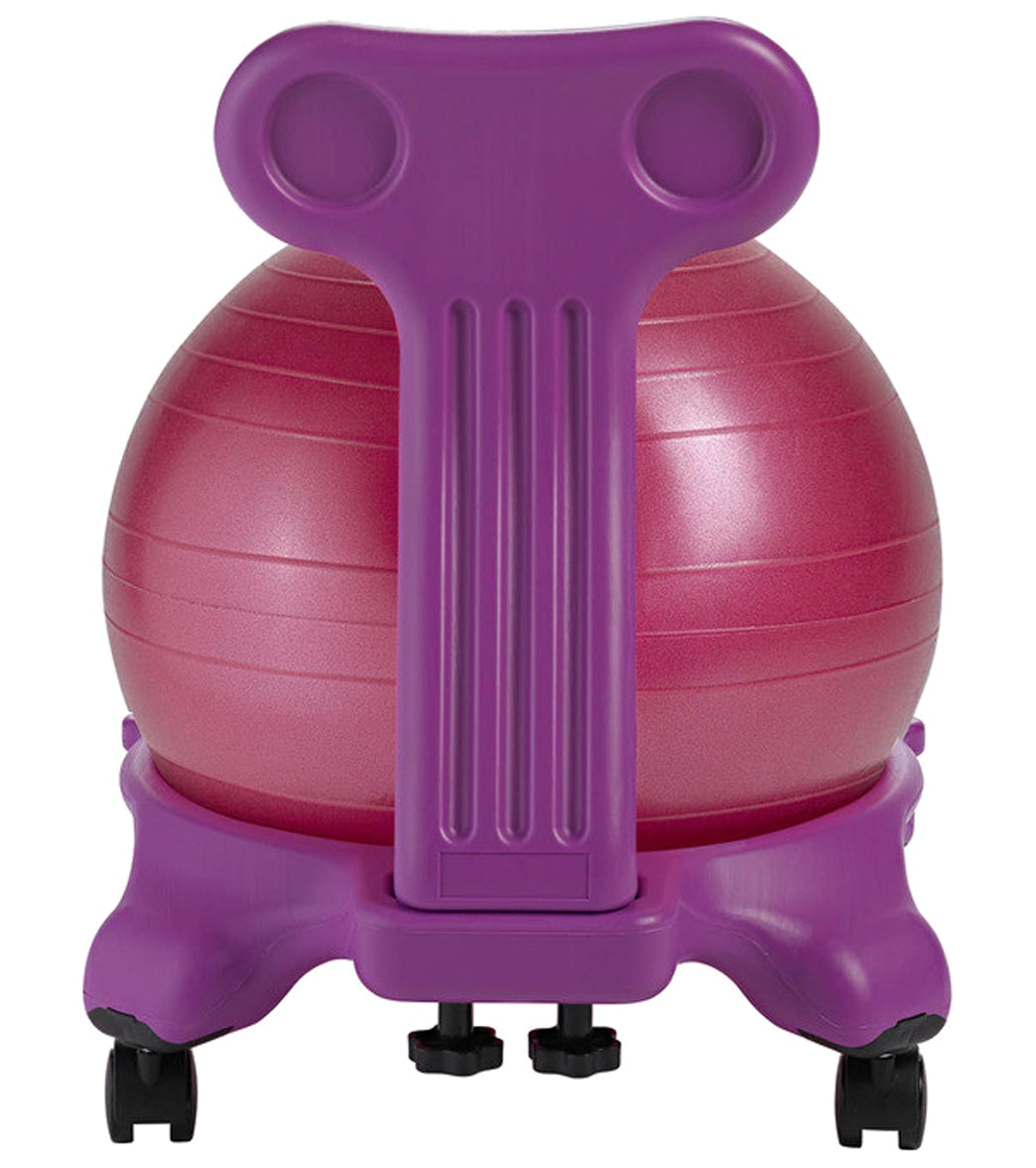 Excellent Gaiam Kids Yoga Balance Ball Chair Caraccident5 Cool Chair Designs And Ideas Caraccident5Info