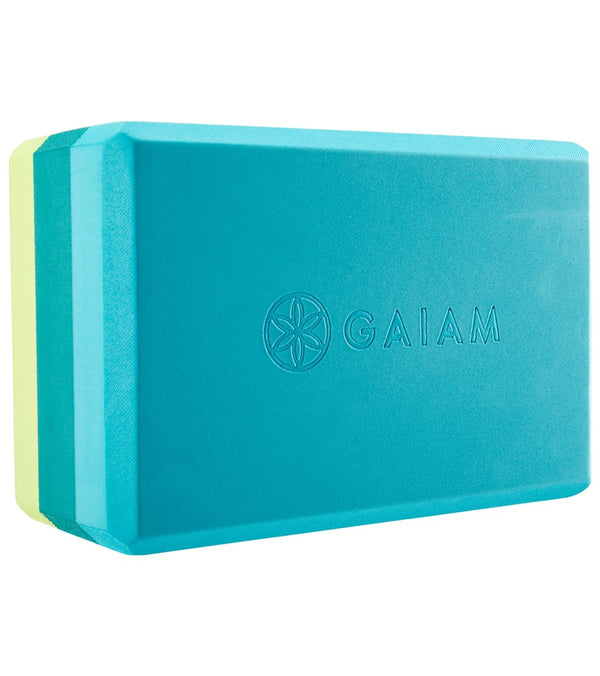 Gaiam Tri Color Yoga Block