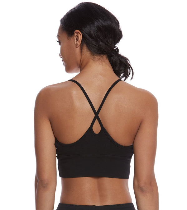 Hard Tail X Side Middy Yoga Sports Bra