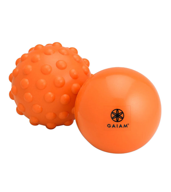 Gaiam Restore Hot & Cold Yoga Therapy Ball Kit