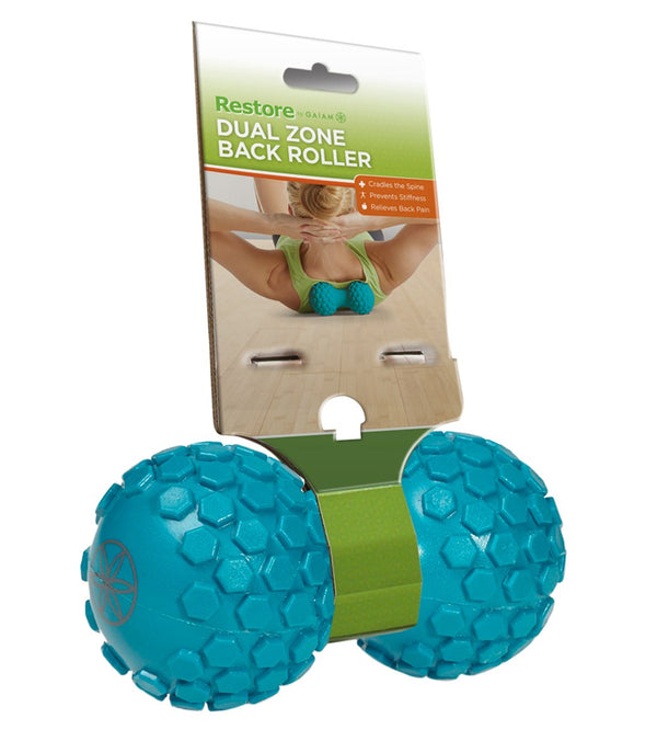 Gaiam Dual Zone Back Roller
