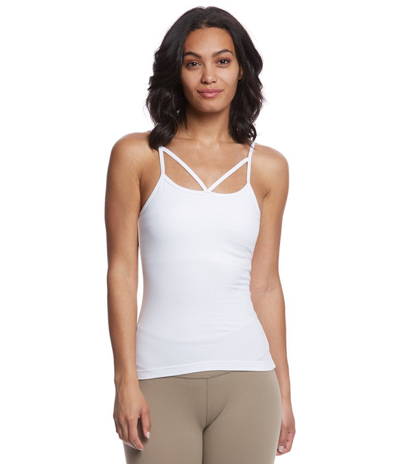 Hard Tail Strappy Front Yoga Tank Top