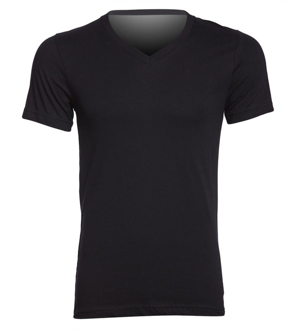 Bella + Canvas Men's Jersey Short Sleeve V-neck Tee