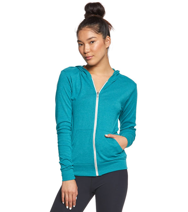 Bella + Canvas Triblend Full Zip Lightweight Hoodie