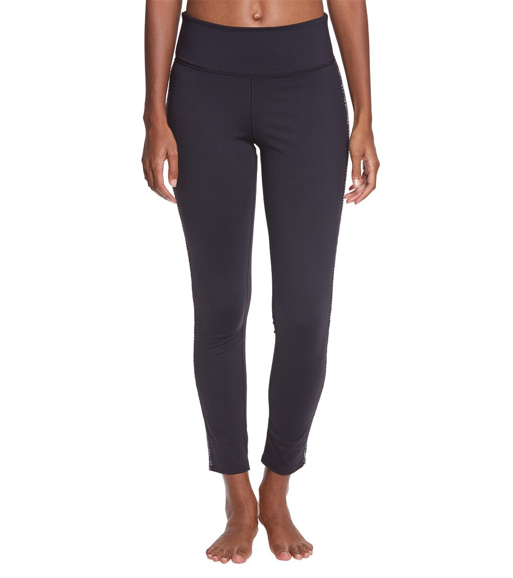 Free People Movement Stitch In Time Yoga Leggings - Black Spandex