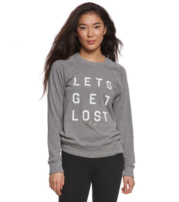Spiritual Gangster Get Lost Old School Yoga Pullover