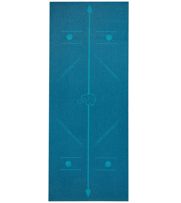 Everyday Yoga Kids' Alignment Yoga Mat 60 Inch 5mm