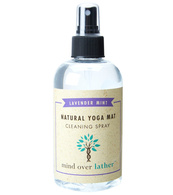 Mind Over Lather Spray Nozzle Yoga Mat Cleaner - Lavender Mint