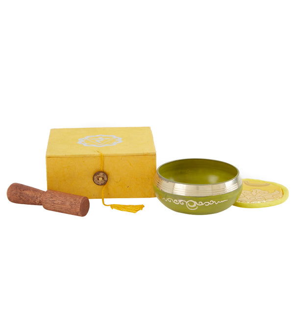 Shamans Market Manipura Singing Bowl Chakra Gift Box