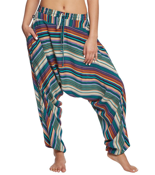 Buddha Pants Stripes Harem Pants