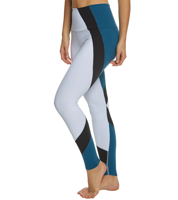 Beyond Yoga Around The Colorblock High Waisted Yoga Leggings