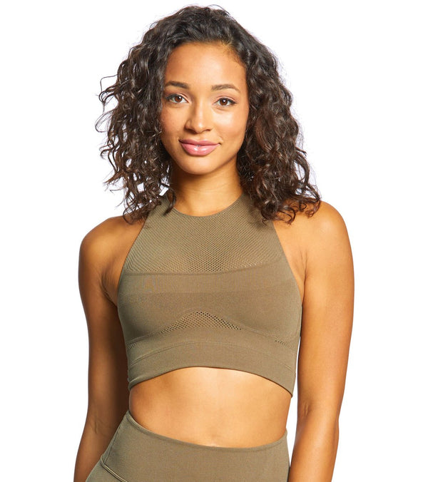 Free People Movement Sculpt Seamless Yoga Crop Top