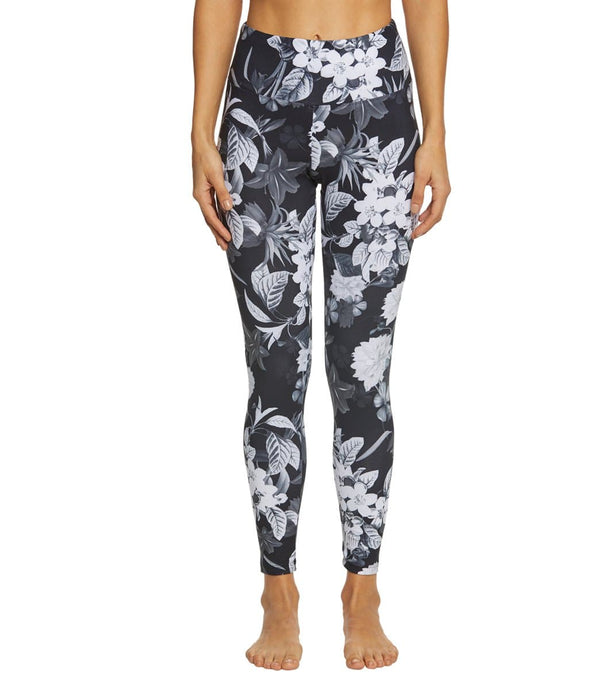 Balance Collection Printed High Waisted Yoga Capris