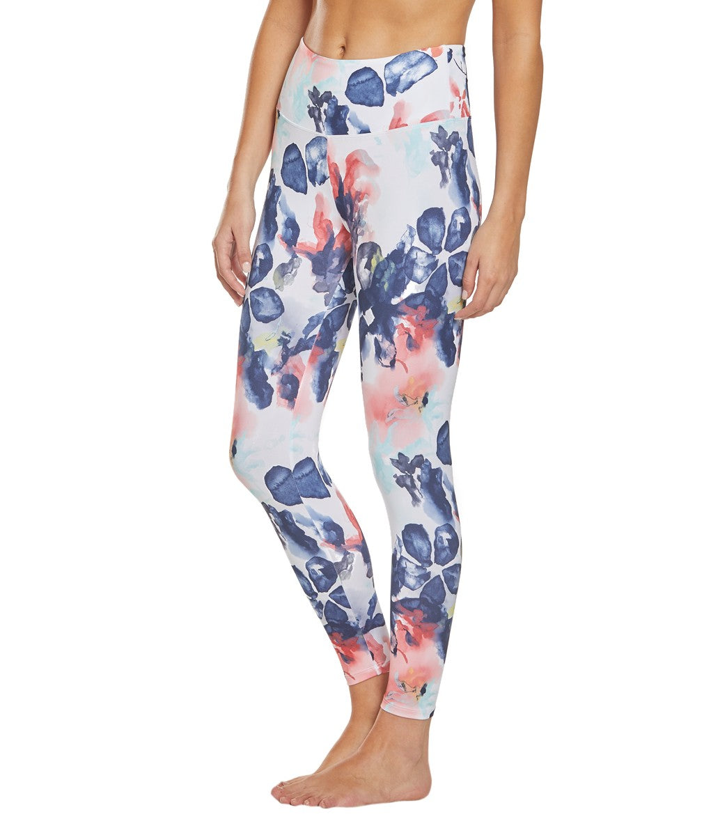 2654d066576cb9 Balance Collection Printed High Waisted Yoga Capris at YogaOutlet.com