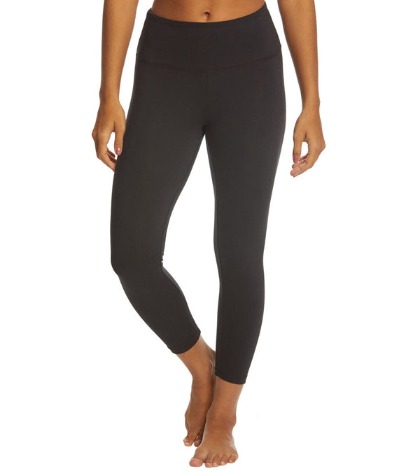 Balance Collection Solid High Waisted Yoga Capris