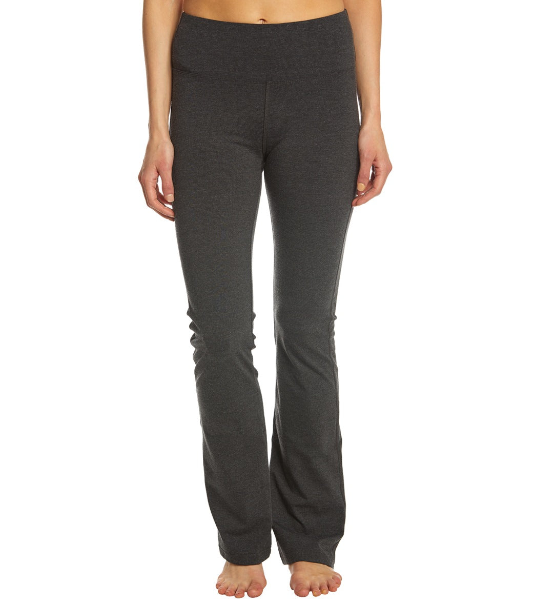 These Marika Sophia High Waisted Tummy Control Slim Boot Pants provide comfort in all the right places. A wide, power mesh lined waistband controls your lower tummy for a figure-flattering fit, while a slim boot-cut gives you a comfortable fit with more room to move and stretch. Features Women\\\'s slim boot-cut pants. 4\\\