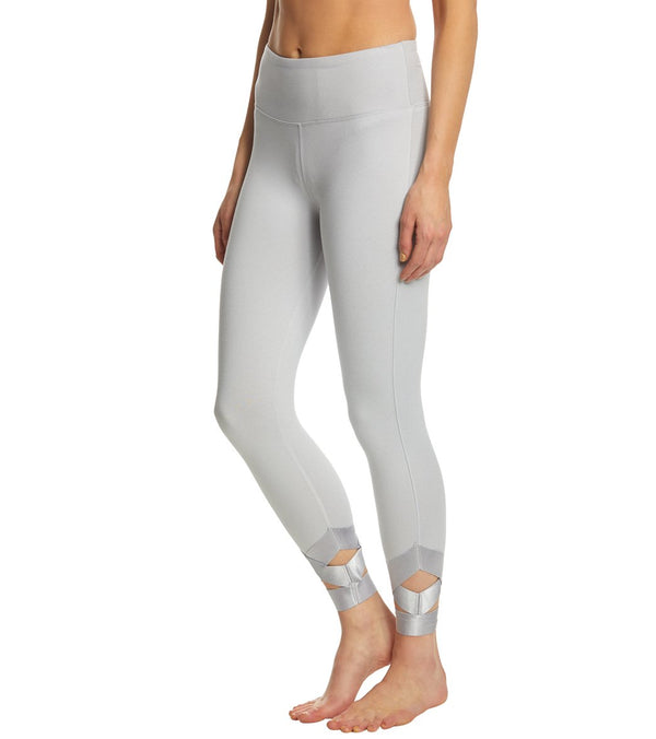 Betsey Johnson Performance Banded Cutout Ankle Yoga Leggings
