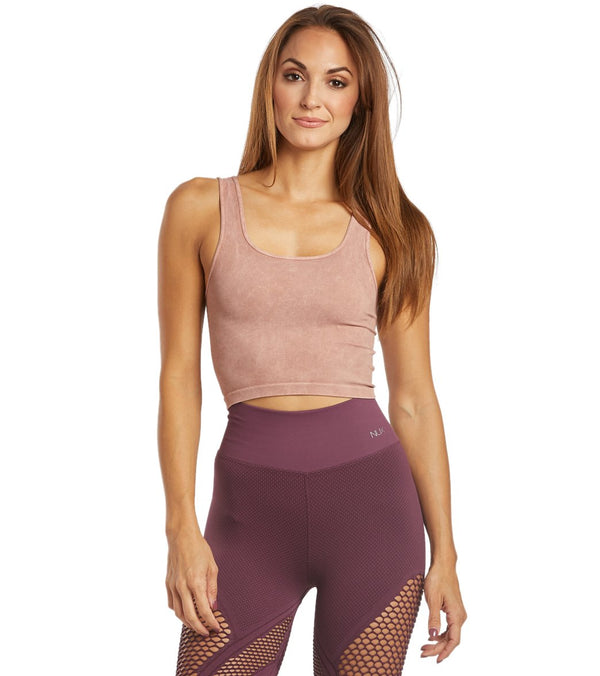 NUX Be Free Seamless Yoga Crop Top
