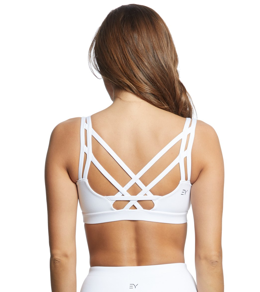 a1cde8fb9567 Everyday Yoga Radiant Strappy Back Sports Bra at YogaOutlet.com