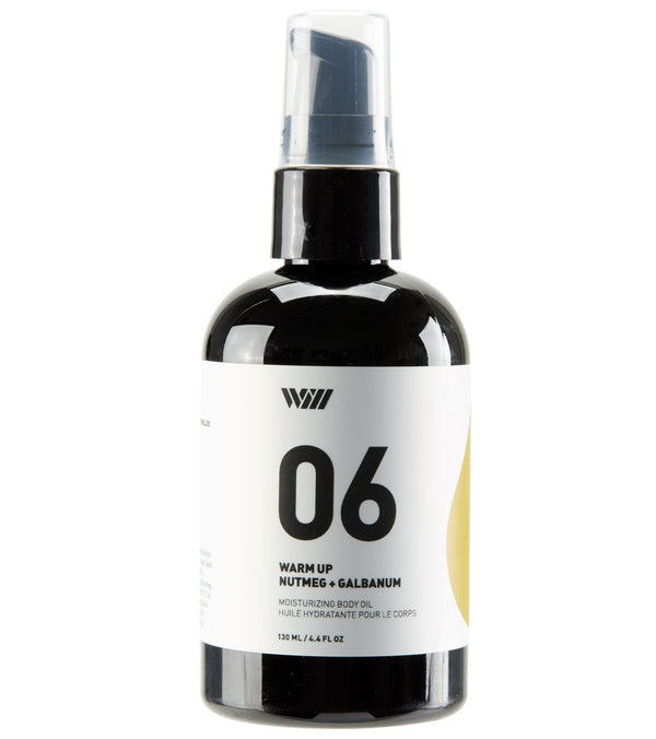 Way Of Will Warm Up Moisturizing Body Oil