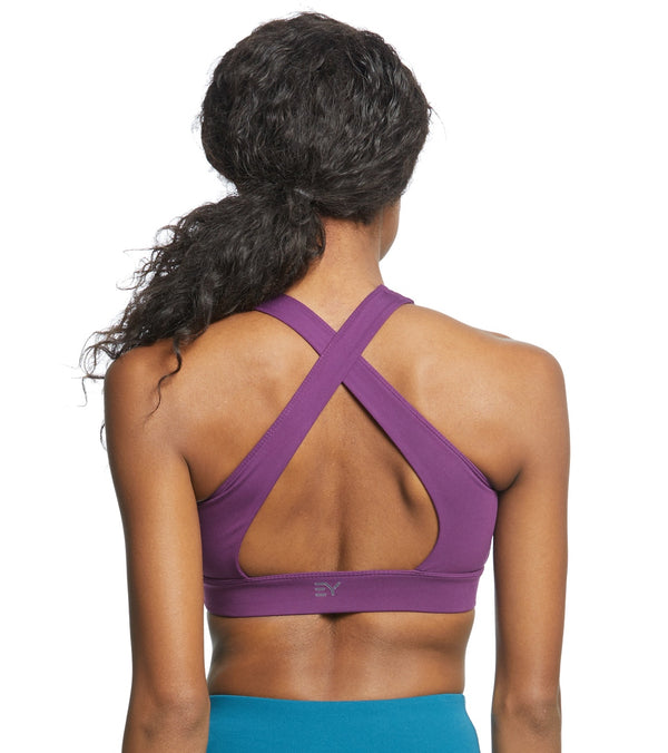 Everyday Yoga Warrior X High Neck Sports Bra