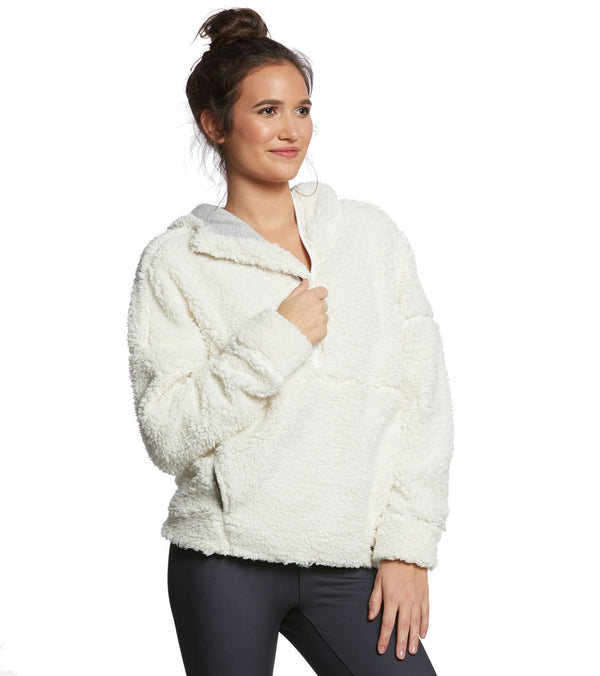 prAna Permafrost Half Zip After Yoga Jacket