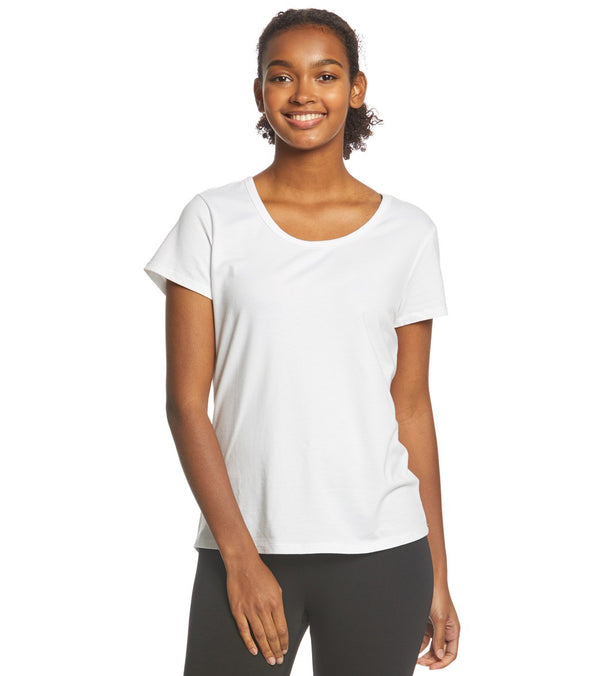 Danskin Half Moon Short Sleeve Tee