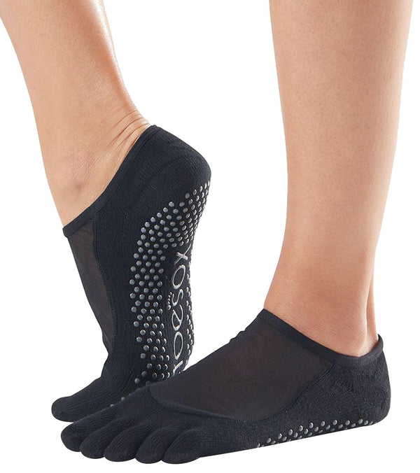 Toesox Luna Full-Toe Yoga Grip Socks