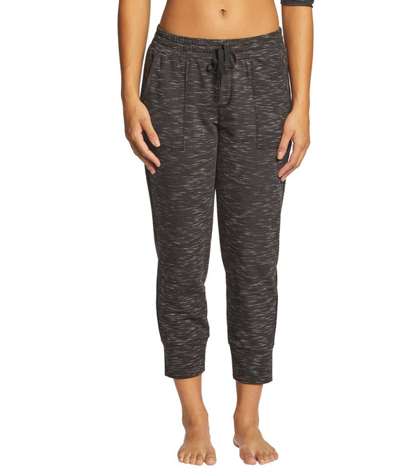 Pink Lotus Movement Pause Capri Joggers