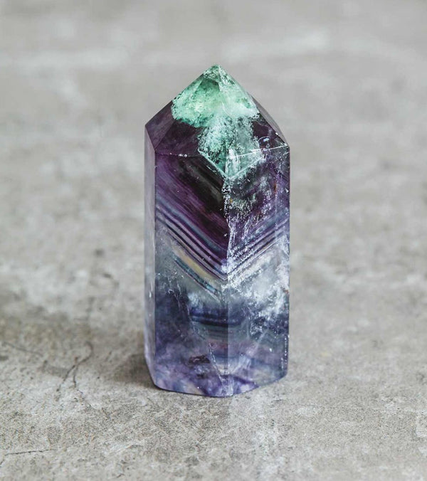 SoulMakes Small Polished Fluorite Point