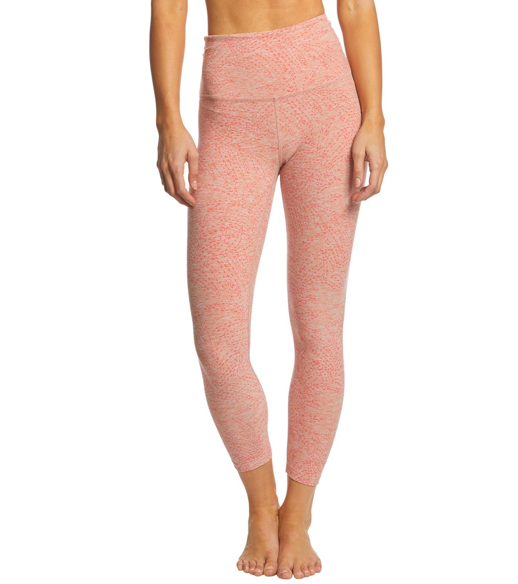 090ac79942300 Beyond Yoga Jungle Fern Spacedye High Waisted Yoga Capris at YogaOutlet.com  - Free Shipping