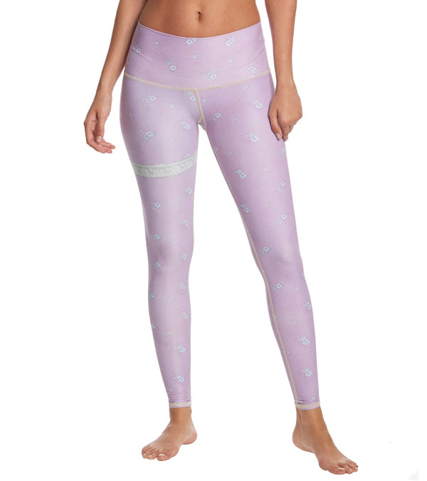 Teeki Marry Me Purple Hot Yoga Pants