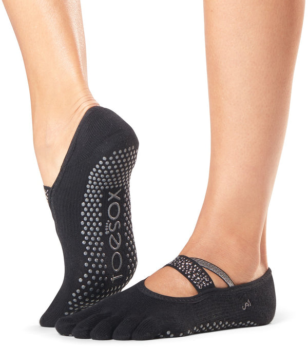 Toesox Mia Full-Toe Yoga Grip Socks