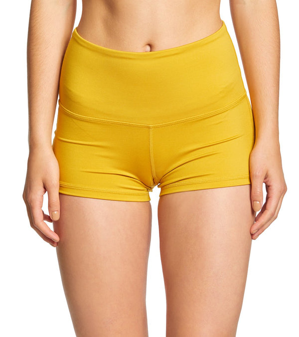 Mika Yoga Wear Bella High Waist Yoga Shorts