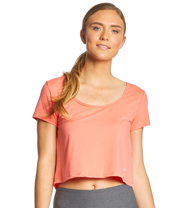 Marika Ignition Crop Short Sleeve Tee