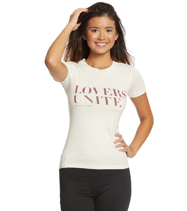 Spiritual Gangster Love Unite Tally Tee